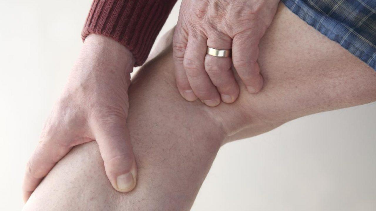 după o încărcătură de dureri la genunchi
