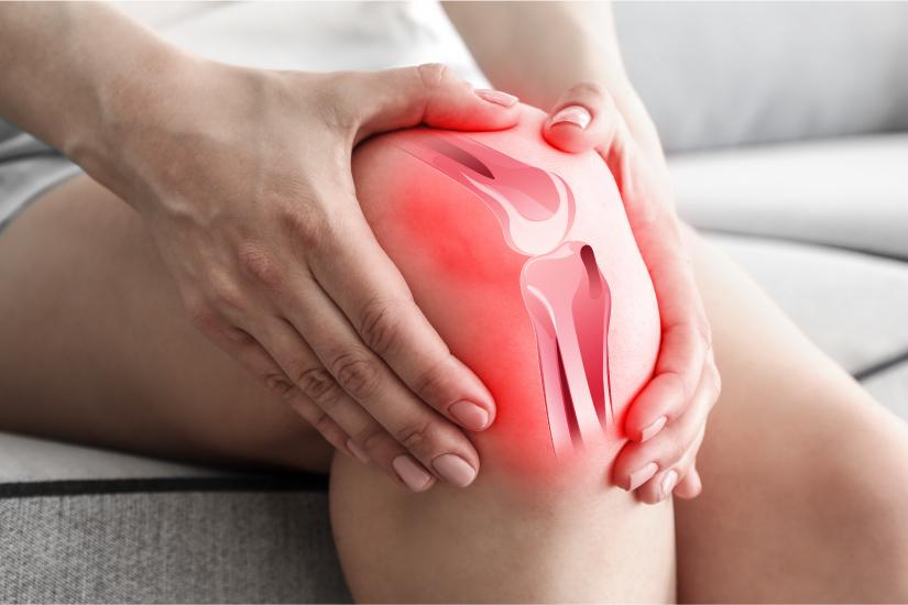 căldură cu dureri la genunchi