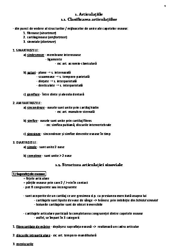 clasificarea unguentelor pentru articulații