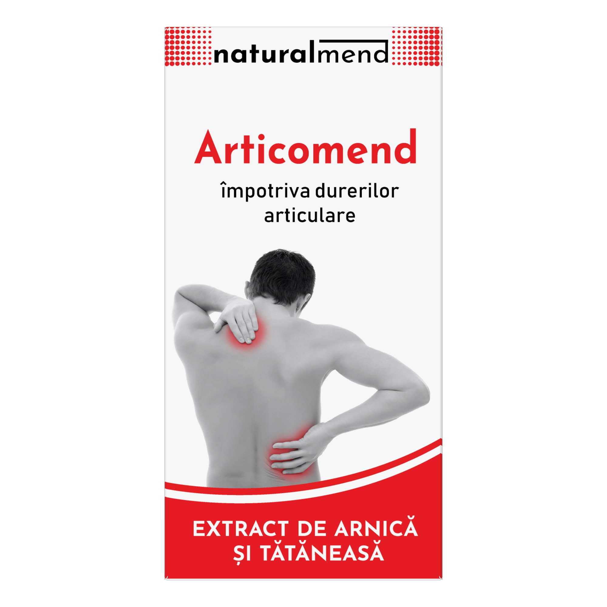 Măști pentru durerile articulare. Cremă pentru dureri articulare Dacoderm, 75 ml, Dacia Plant
