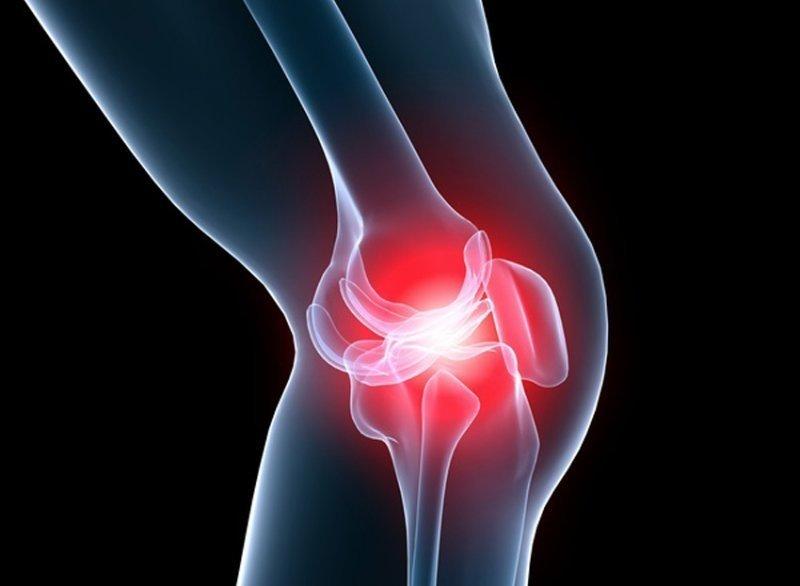 crunches articulația genunchiului