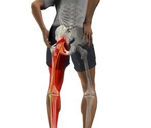 într-o poziție de șezut durere în articulația genunchiului
