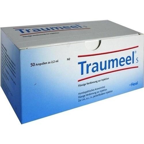 Unguent Traumeel pentru dureri articulare, Prospect Medicament - Traumeel S comprimate