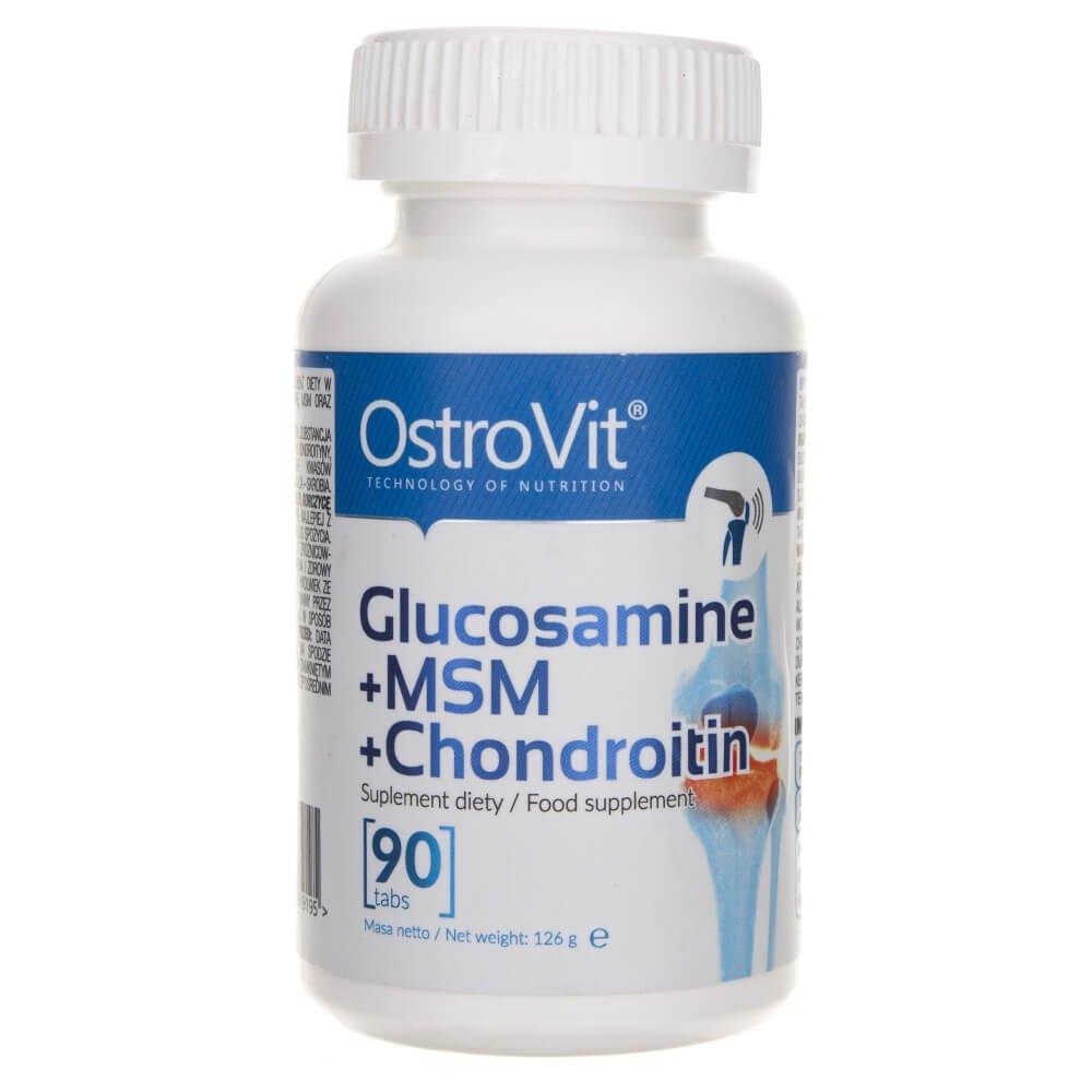 Glucozamina, condroitina, MSM - 60 comprimate