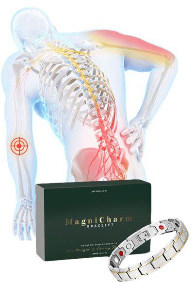 MagniCharm Bracelet – Controlează durerea într-un mod magnetic!