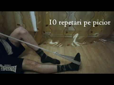 Inflamația gleznei cu picioarele plate