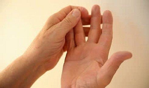 mâna este amorțită și articulațiile doare
