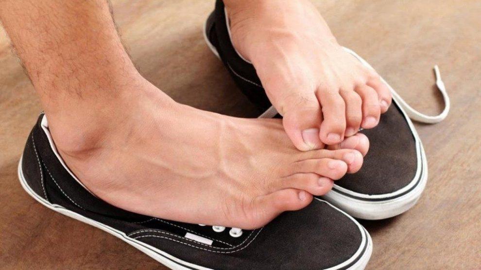 transpirația picioarelor