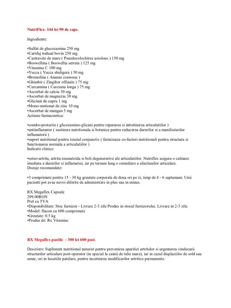 Vitamina Pentru Dureri Articulare, Articulatii sanatoase: cele mai bune suplimente si remedii