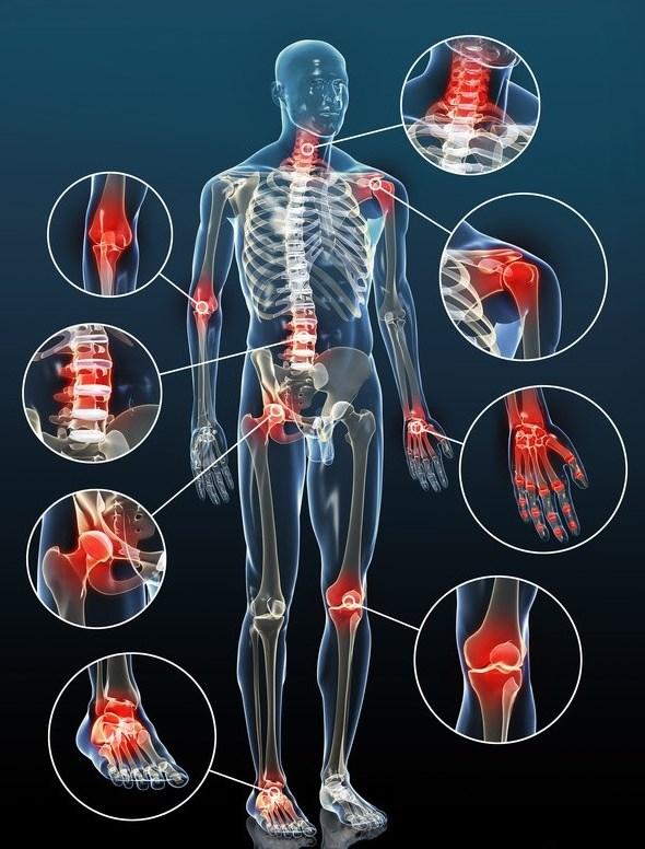 все мышцы и суставы тела болят