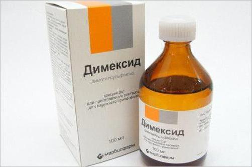 Recenzii de tratament cu dimexid