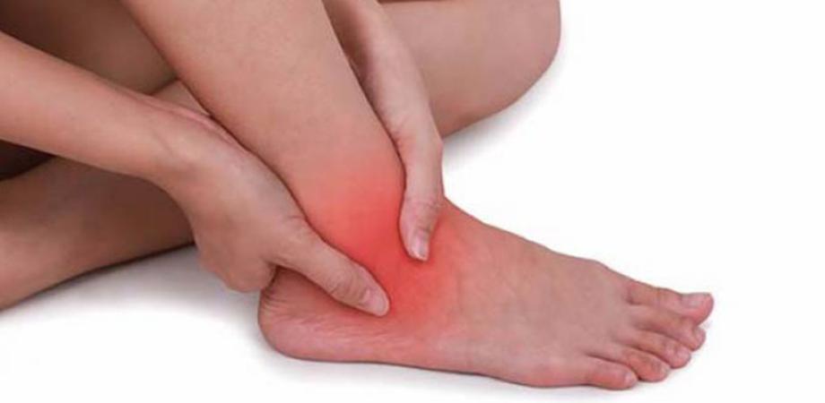 umflarea și durerea în tratamentul articulației gleznei