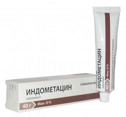unguent de indometacină pentru osteochondroză